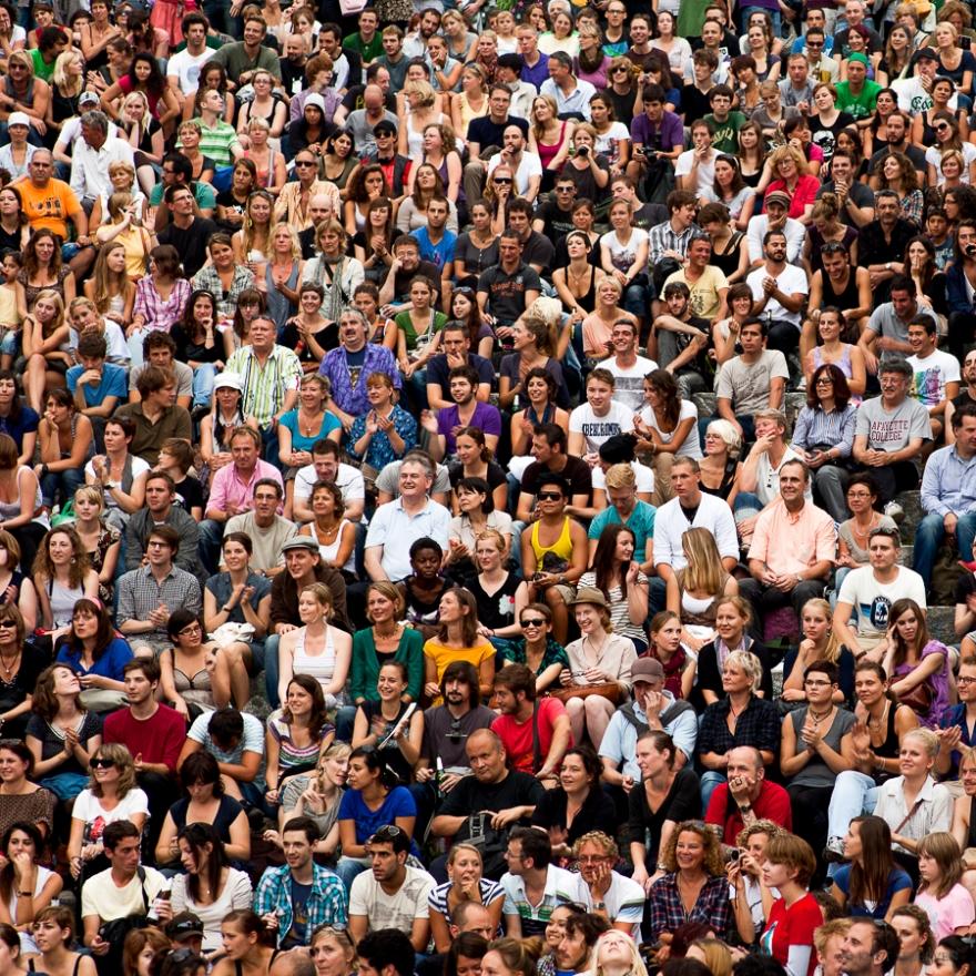 The Crowd ©  Knut Skjærven