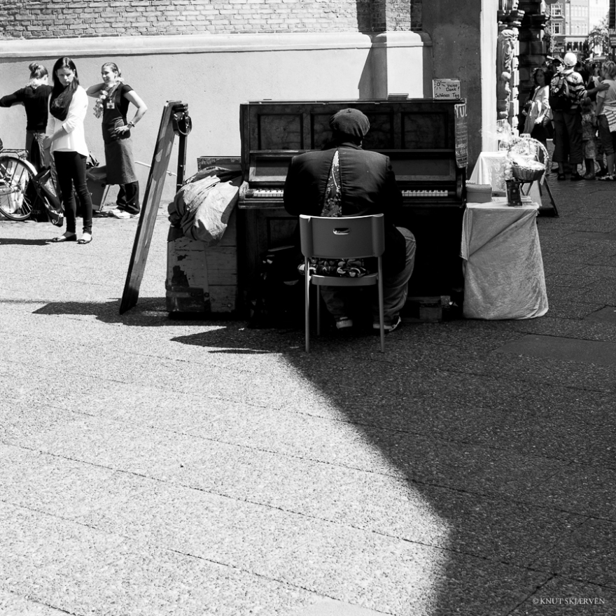 Piano Man © Knut Skjærven