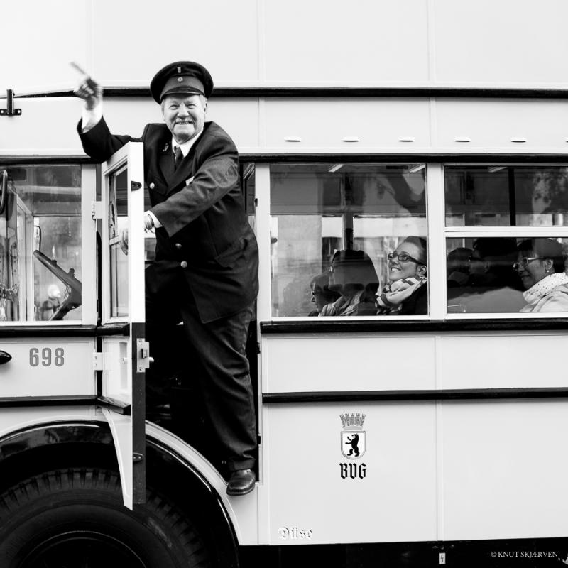 Bus Driver © Knut Skjærven
