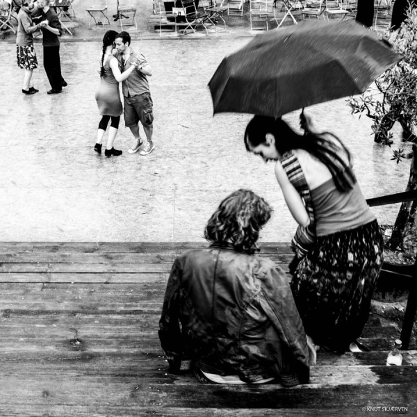 Dancing In The Rain. © Knut Skjærven